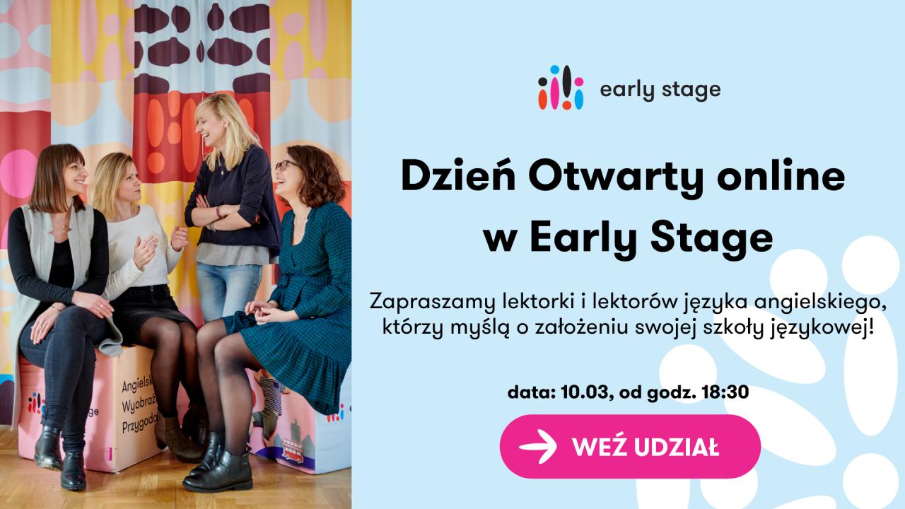 Dzień Otwarty online w Early Stage 1920x1080 4