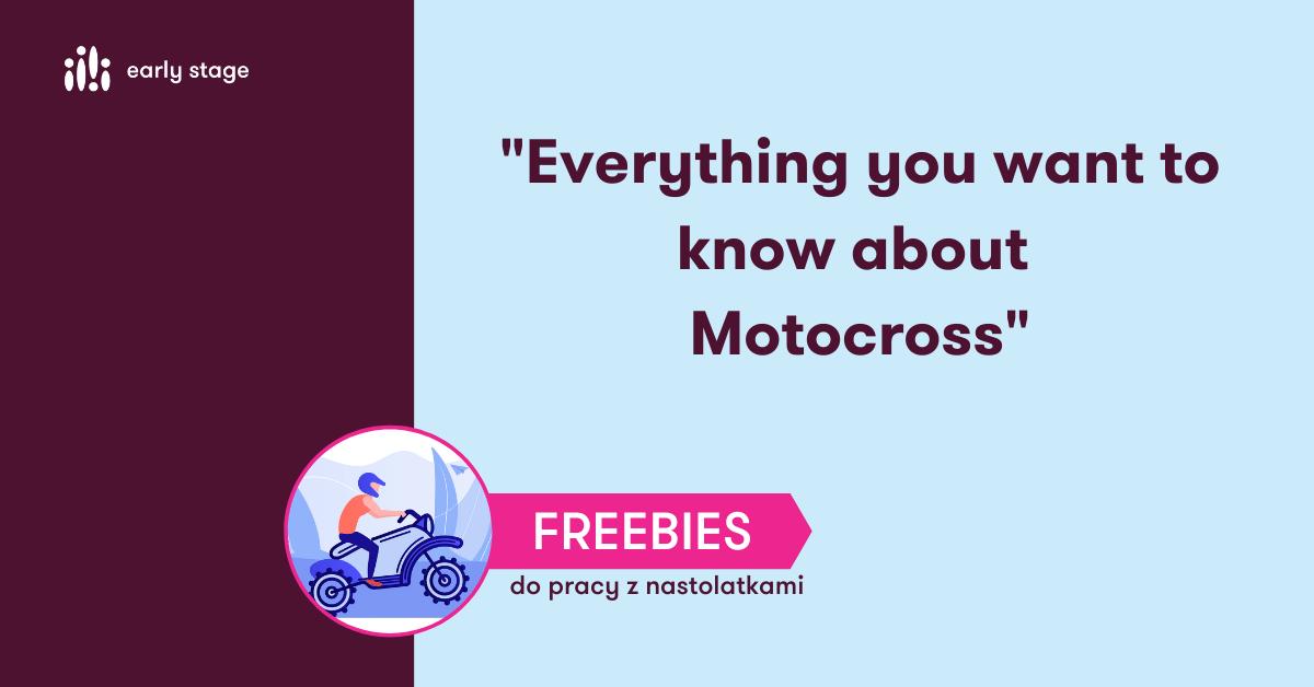 Materiały dla nauczycieli języka angielskiego Motocross