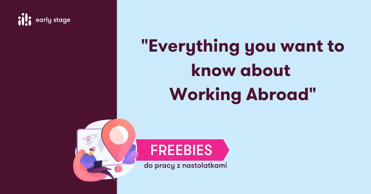 Materiały dla nauczycieli języka angielskiego Working Abroad