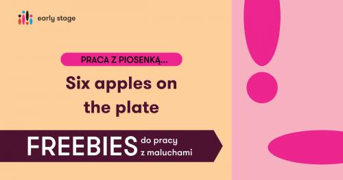 Materiały dla nauczycieli w języka angielskiego - Six apples on the plate