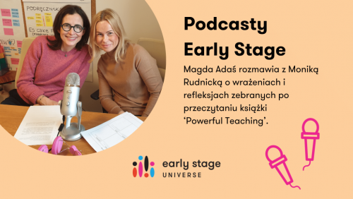 Podcasty Early Stage z Monią